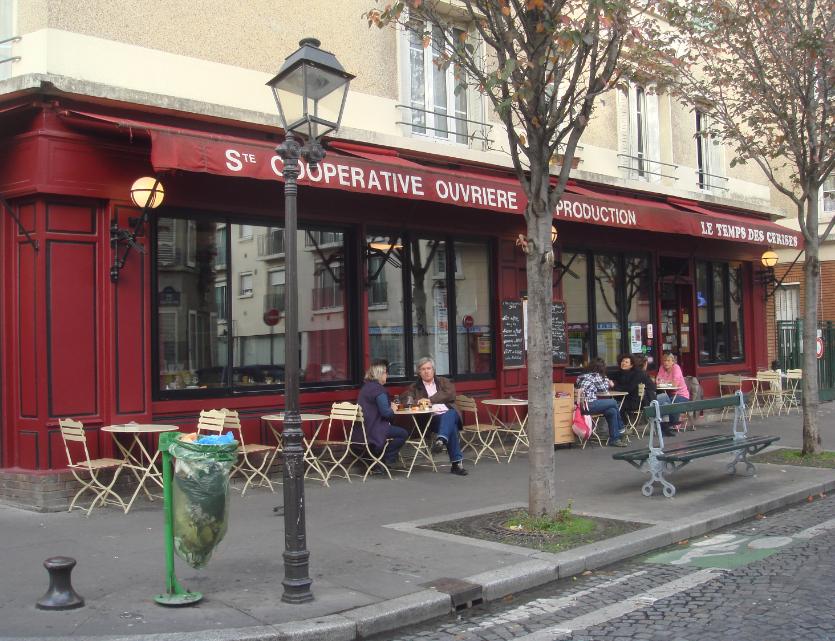 Restaurant le temps des cerises mod 39 art mba fashion blog - Restaurant buttes aux cailles ...