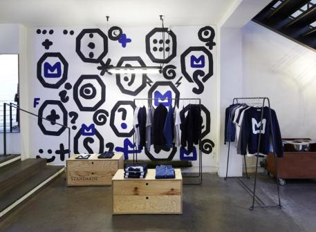 "The capsule collection ""Blue Project"" by Maison Standards"