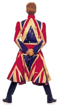 The Union Jack coat by Alexander Mc Queen